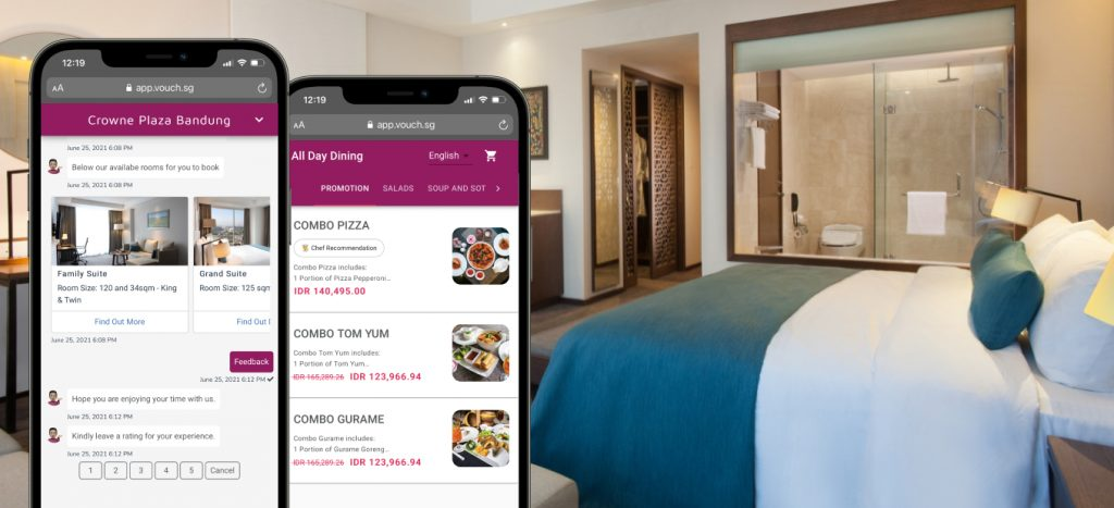 Crowne Plaza Bandung_Digital Concerige_Vouch_Review Guest Feedback