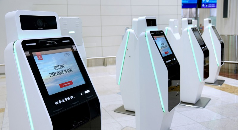 Emirates Contactless Self-Check-in
